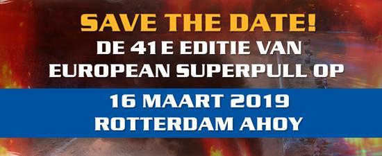 Save the date - European Superpull 2019